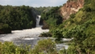 Ouganda waterfall